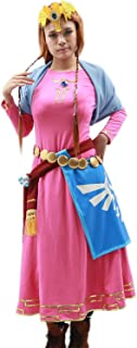 Xcoser Halloween Women's Princess Cosplay Costume Outfits Suit