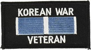 EagleEmblems PM0271 Patch-Korea,War Veteran (4x2.125'')