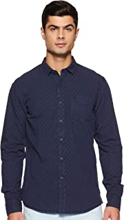 Allen Solly Men's Checkered Regular Fit Casual Shirt