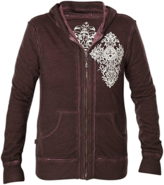 Affliction Memoir Reversible Zip Hood Jacket