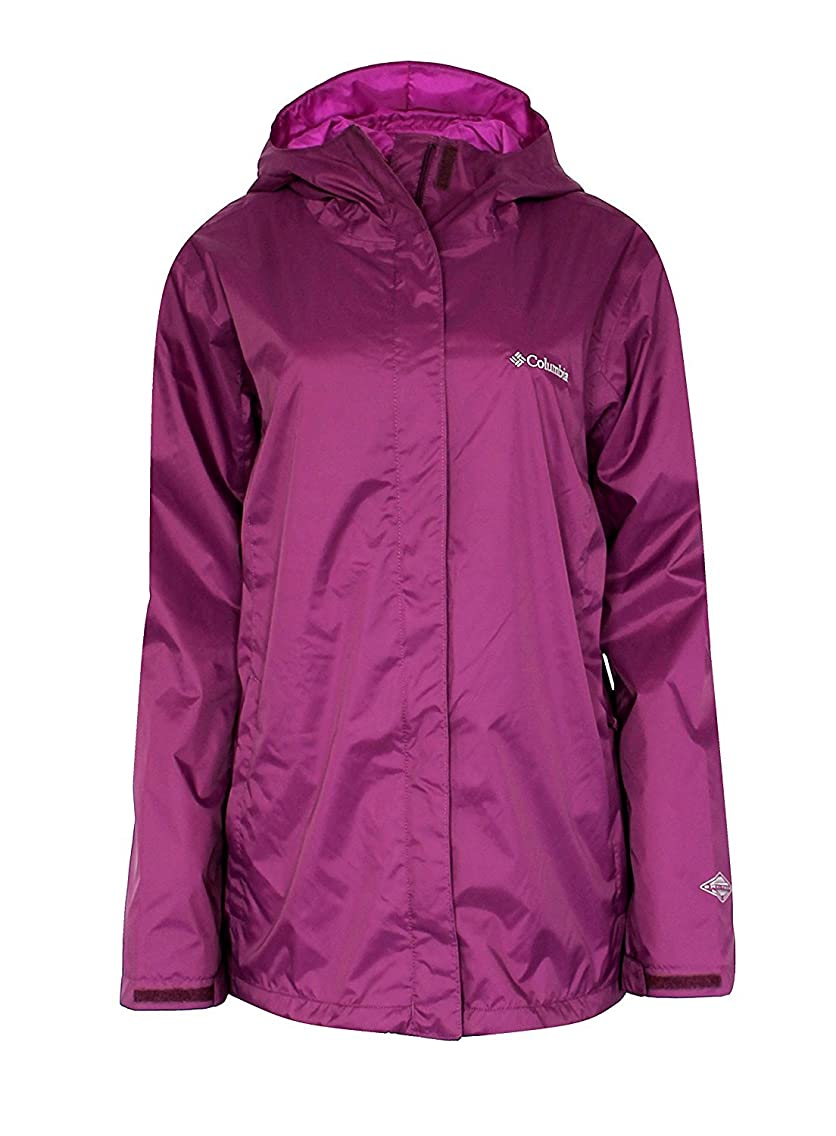 Columbia Women's Plus Marys Peak II Hooded RAIN Jacket