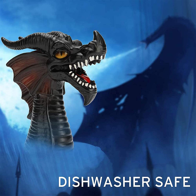 Black Dragon Fire-breathing Dragon Steam Release Diverter Tool for Pressure Cooker Kitchen,Steam Release Accessory for Instant Pot Pressure Cooker,Cupboards//Cabinets Savior