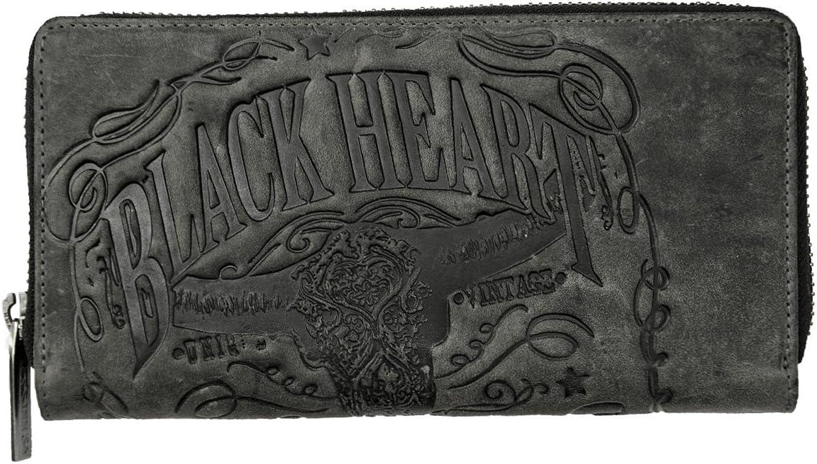 Jack's Inn 54 Leather Wallet Dedication Bourbon Black - Liquor Jacksonville Mall