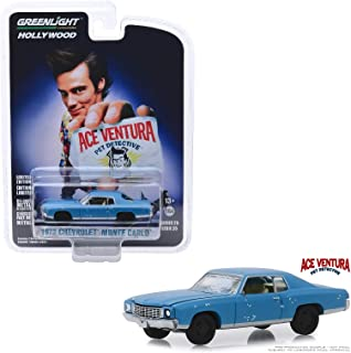 Greenlight 44850 F 1972 Chevy Monte Carlo Ace Ventura Pet Detective Diecast Car 1:64