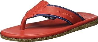 US Polo Association Men AYTON Leather Hawaii Thong Sandals