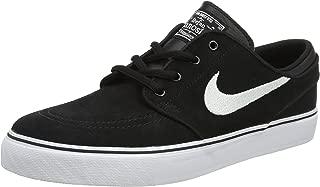 Boy's Stefan Janoski (GS) Skateboarding Shoe Black/White
