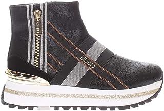 LIUJO ILINEA Sneakers Donna Pelle Black
