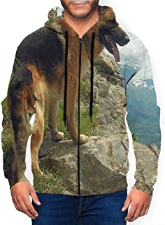 Long Sleeve Hooded Sweatshirt Ghost Rider Stylish Hoodies for Men