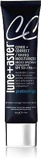 Lune+Aster CC Cream Broad Spectrum SPF 50+/PA+++- Golden Light- Medium coverage CC Cream with SPF 50 creates a dewy glow