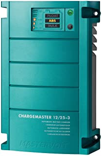 Mastervolt 44010250 ChargeMaster Battery Charger,  12V 25A,  3 Banks