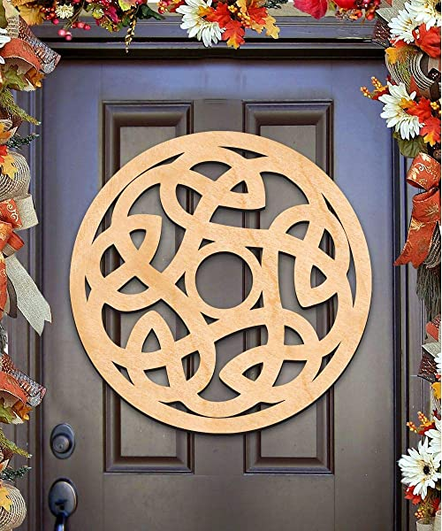 CELTIC SPIRAL KNOT Wall Decor And Door Hanger 93164H 20