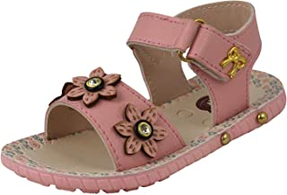 Onbeat Girls Peach Floaters and Outdoor Sandals