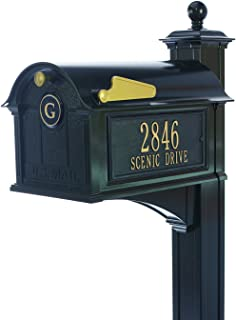 Best large mailbox post Reviews