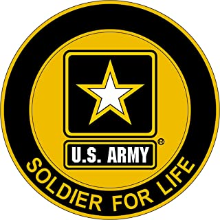 Military Vet Shop US Army Soldier Life Window Bumper Sticker Decal 3.8