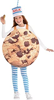 Suit Yourself Cookies & Milk Halloween Costume for Kids, Standard Size, with Hat