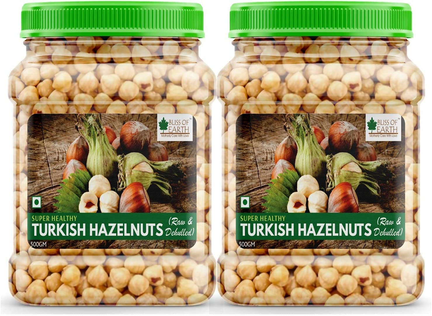 Bluenile Bliss Free Courier shipping free shipping shipping of Earth Turkish Healt Hazelnuts Raw Dehulled