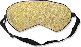 Sleep Mask Glitter Tumblr Backgrounds Eye Mask Patch with Adjustable Strap Eye Shades for Travel, Nap, Meditation, Blindfold