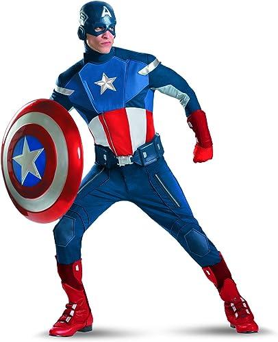 Morris Costumes, Captain America Costume TG 50-52
