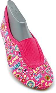 (12 UK Child, Pink - Pink (pink 06)) - Beck Girls' Happy, Rist Gym shoes