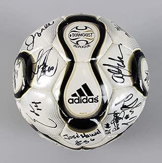 2008 Galaxy Team Signed Soccer Ball 25+ Sigs. – David Beckham, etc. – COA JSA