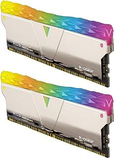 v-Color Prism Pro RGB Series RGB LED Enhancement Kit Silver Copper Alloy Desktop Module 2 x RGB Filler Kit (TY-E6PYSWK) - ...