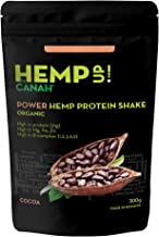 Hemp Up by Canah Cacao Organic Shake – Energy Booster Hemp Protein Shake for Active Lifestyle Meal Replacement Shake with High Quality Ingredients Allergen Free High in Protein 300 gr Estimated Price : £ 9,70
