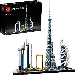 LEGO 21052 Architecture Dubai Model Bouwset, Skyline collectie, Display en Verzamelmodel voor Volwassenen