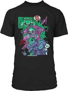 Overwatch Nerf This (D.Va) Men's Gamer Tee Shirt