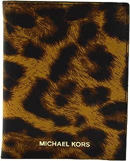 Money Pieces Butterscotch Saffiano Leather Passport Holder Case Cover Wallet