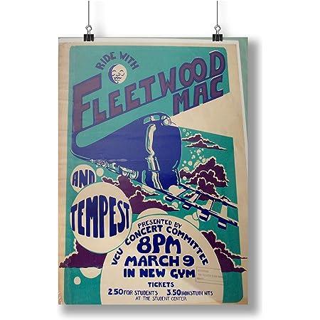 Fleetwood Mac Digital Art Music Poster Print T1670 A4 A3 A2 A1 A0 