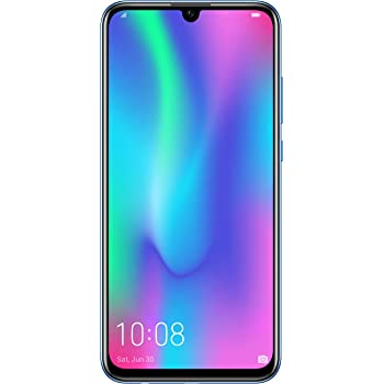 HONOR 10 Lite 64 GB Smartphone BUNDLE (16,5 cm (6,21 Zoll), Dual-Kamera, Dual-SIM, Android 9.0) Sapphire Blue + gratis HONOR Classic Earphone [Exklusiv bei Amazon] - Deutsche Version