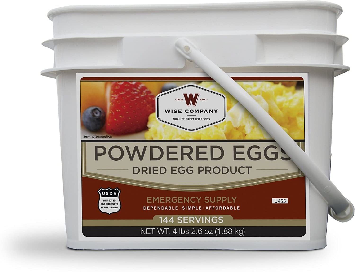 Wise Foods Wise Powdered Eggs 144 Serving