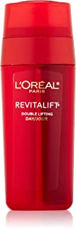 L'Oreal Paris Skin Care Revitalift Double Lifting Face Treatment, Anti-Wrinkle Face Moisturizer + Ultra Concentrated Lifting Gel in One Step, 1.0 Fl. Oz.