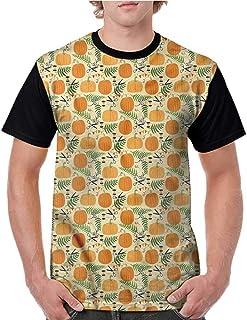 BlountDecor Trend t-Shirt,Ottoman Pattern Fashion Personality Customization