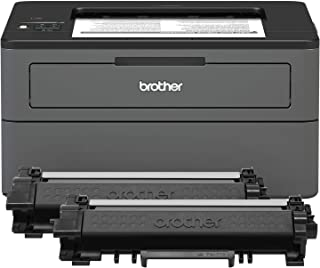 Brother Compact Monochrome Laser Printer, HL-L2370DWXL Extended Print, Up to 2 Years of Printing Included, Wireless Printi...