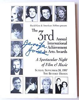 Jennifer Jones Signed Autograph Award Program The Song of Bernadette JSA II23332