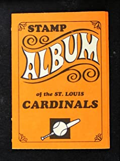 1969 Topps Baseball Stamp Albums NO St. Louis Cardinals St. Louis Cardinals (Baseball Card) Dean's Cards 4 - VG/EX Cardinals