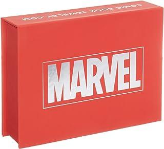Marvel's Spider-Man女式纯银戒指 216 months to 1200 months 9 925 纯银镀铑和 18kt 金