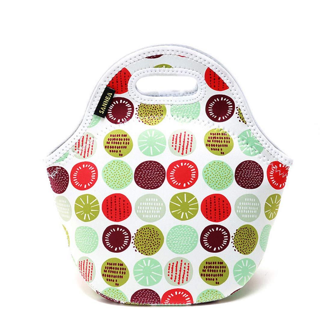 Bolsa para almuerzos Bolsa de enfriamiento de gran capacidad Tamaño de la caja Adecuado para la merienda de comida bebés Empresa para niños Bolsa de almuerzo trabajo Bolso de mochila Comida ,B: