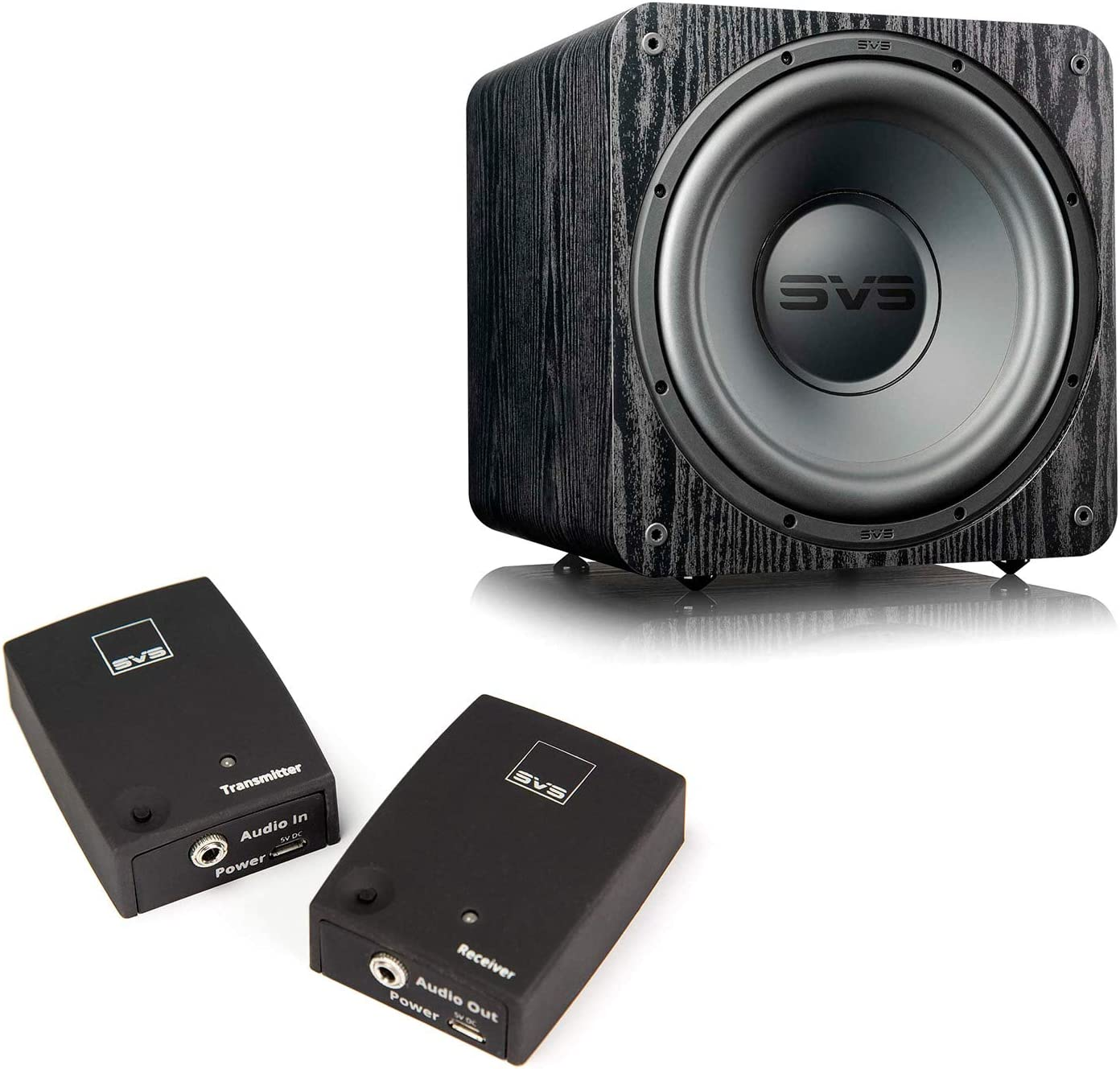 SVS SB-1000 Ranking integrated 1st place Pro Sealed 12-Inch Bundle Soundpa Omaha Mall with Subwoofer