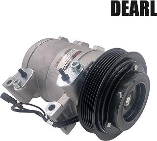 Dearl A/C エアコンコンプレッサー クラッチ付き V6 3.2L 3.5L L4 2.2L 99-00 Amigo / 02-04 Axiom / 99-04 Rodeo / 01-03 Rodeo Sport / 02 Trooper...