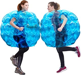 "Geekper Sumo Bumper Balls, Inflatable Body Bubble Ball Bumper Bopper Kids Adults 36"" - 2 Balls (Blue)"