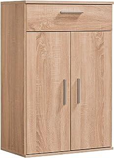 mokebo® Armoire multi-usages « Der Pratique » moderne avec tiroirs - Petite armoire et armoire moyenne - Fabriquée en Alle...