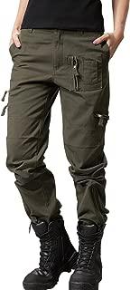 Women's Military Straight Fit Stylish Combat Cargo Slacks Pants