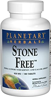Planetary Herbals Stone Free 820 mg Herbal Support for Kidney and Gallbladder 180 Tablet
