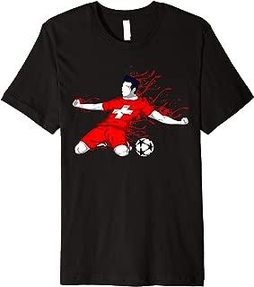 Switzerland National Soccer Team Jersey Swiss Football Lover Premium T-Shirt