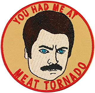Parks and Recreation Ron Swanson Iron On Patch