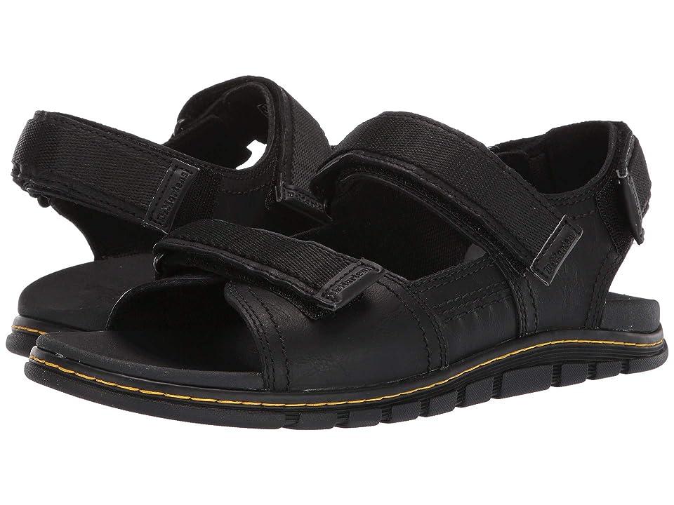 Dr. Martens Athens Sandal (Black Carpathian/Webbing) Sandals