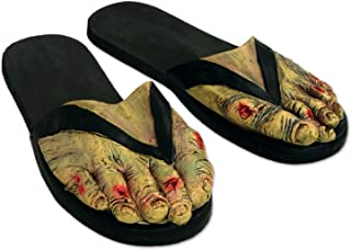 Beistle 00040 Zombie Feet Slippers