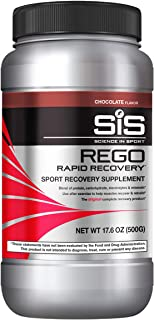 SCIENCE IN SPORT REGO Rapid Recovery, Post Workout Protein Drink, 23g Carbohydrates & Electrolytes with Vitamins, 20g Soy ...